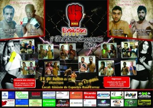 Iº Evolution Champions Fighter